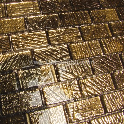Mosaic--Crystal_Glass,Golden_and_Slivery_Mosaic,YF08