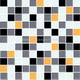 Mosaic--Crystal_Glass,Mixed_Colors_Mosaic
